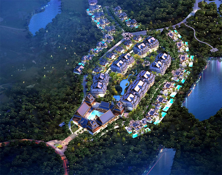 勐巴拉雨林小镇