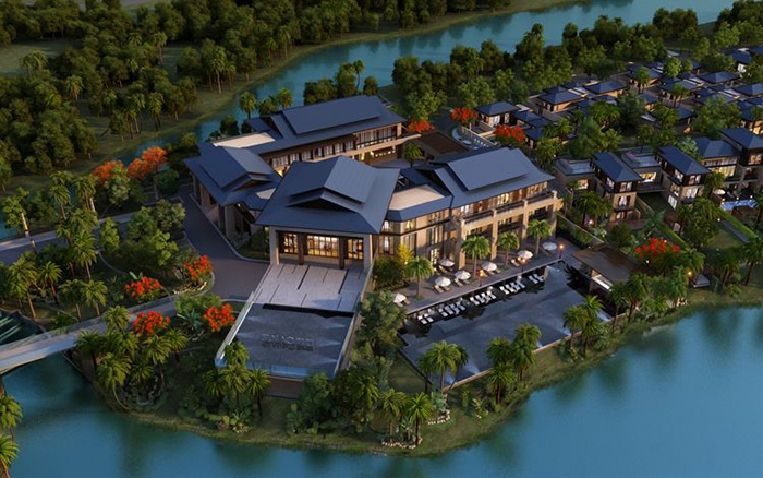 花园入户,户户泳池,这个三亚高端别墅项目你了解多少?