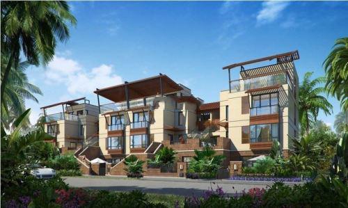 万宁石梅半岛叠拼别墅在售 总价210万/套