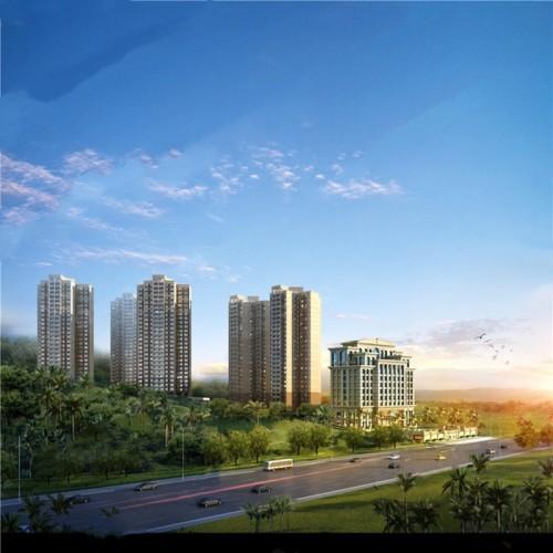 三亞新華聯奧林匹克花園雙海景半山豪宅推出10套房源 單價約25678元/平