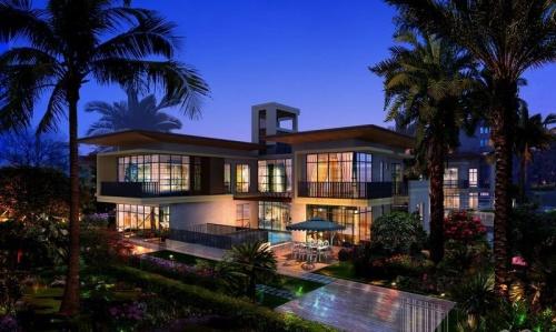 海口開維生態城別墅六房戶型總價720萬/套