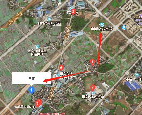 昆明晋宁公园悦府旁137亩土地开发整理招标,要修路建停车场