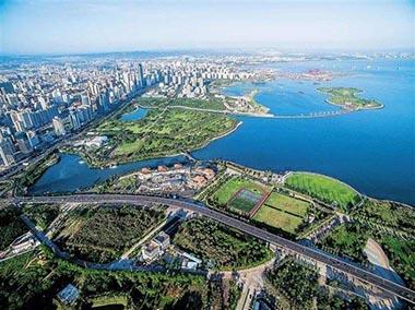 海口江东新区已有57家企业申请入驻