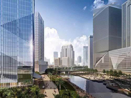摩根大厦多种高层户型在售,预计2021年12月交房